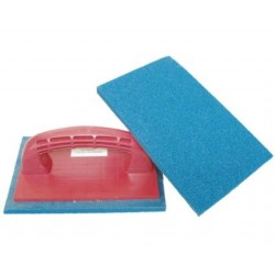 TROWELS WITH BLUE RUBBER