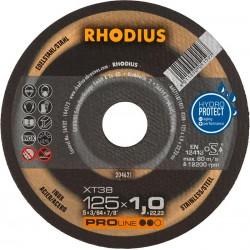 ΤΡΟΧΟΙ RHODIUS ΧΤ38/125Χ1 INOX
