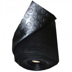 RUBBER SHEETS BLACK WITH...